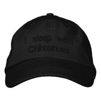 Casquette Brodée Je dors avec des chiwawas