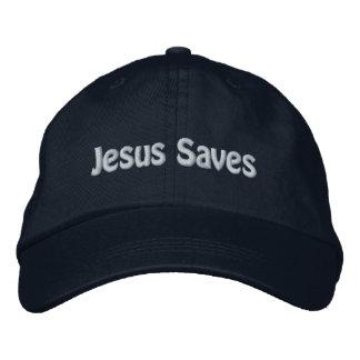 Casquette Brodée Jésus économise