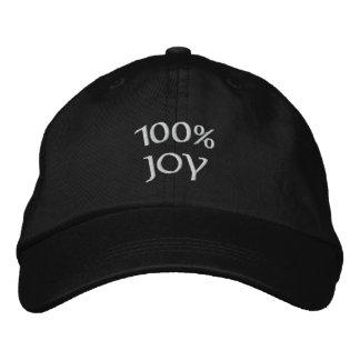 Casquette Brodée joie 100%