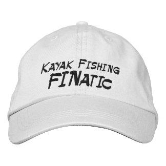 Casquette Brodée Kayak pêchant le fanatique