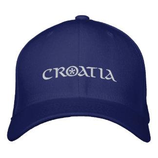 Casquette Brodée La Croatie