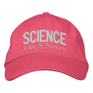 Casquette Brodée La Science n'est pas une conspiration libérale