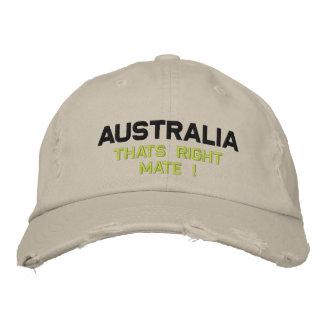 Casquette Brodée L'Australie