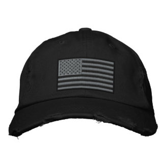 Casquette Brodée Le drapeau modéré des USA de couleurs a brodé le