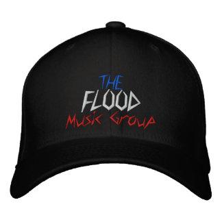 Casquette Brodée Le groupe de musique d'inondation - customisé -