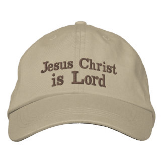 Casquette Brodée Le Jésus-Christ est seigneur