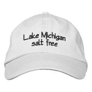 Casquette Brodée Le lac Michigan - sans sel