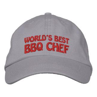 Casquette Brodée Le meilleur chef de BBQ des mondes