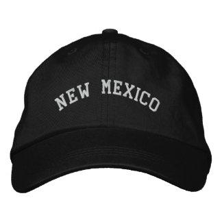 Casquette Brodée Le Nouveau Mexique a brodé le noir réglable de