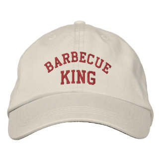 Casquette Brodée Le Roi Funny Embroidered Hat de barbecue