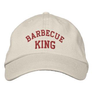 Casquette Brodée Le Roi Funny Embroidered Hat de barbecue