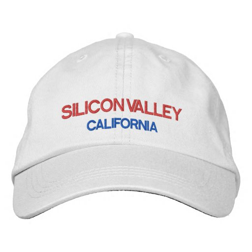 Casquette Brodée Le silicone Valley*-Hut Silicon Valley a