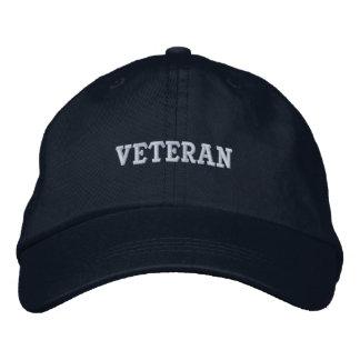 Casquette Brodée Les militaires de vétéran contrôlent