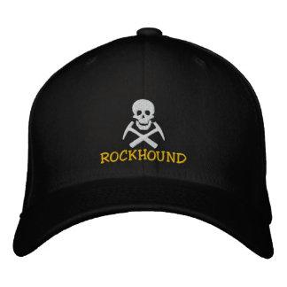 Casquette Brodée Les sélections de crâne et de croix de Rockhound