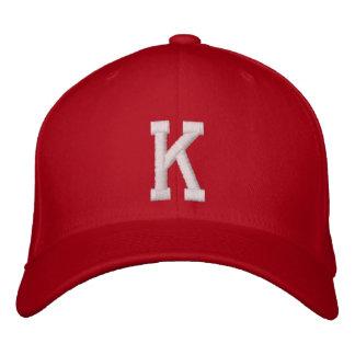 Casquette Brodée Lettre de K