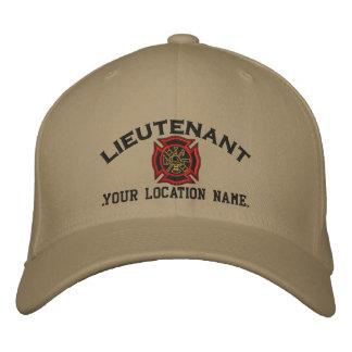 Casquette Brodée Lieutenant personnalisé Custom Cap Embroidery du