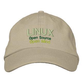 Casquette Brodée LINUX : Open Source, esprit ouvert