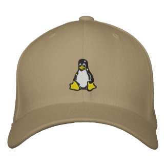 Casquette Brodée Linux Tux