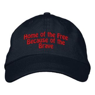 Casquette Brodée Maison du libre en raison du courageux