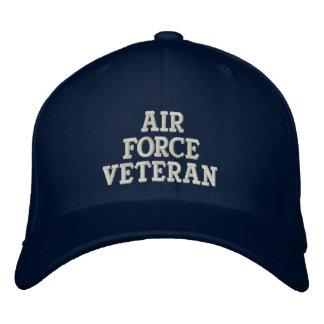 Casquette Brodée Militaires de vétéran de l'Armée de l'Air
