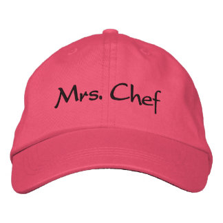 Casquette Brodée Mme Chef