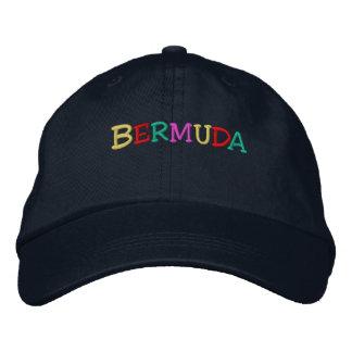 Casquette Brodée Namedrop Nation_Bermuda multicolore