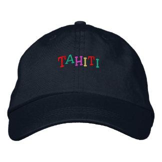 Casquette Brodée Namedrop Nation_Tahiti multicolore