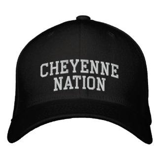 Casquette Brodée Nation de Cheyenne
