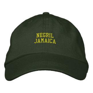 Casquette Brodée Negril Jamaïque brodée