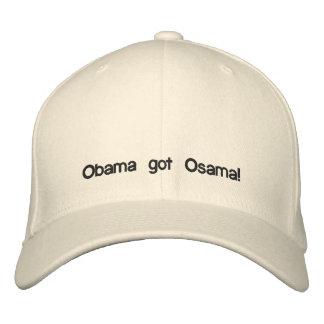 Casquette Brodée Obama a obtenu Osama !
