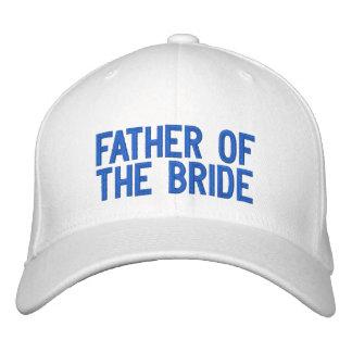 Casquette Brodée Père de la jeune mariée