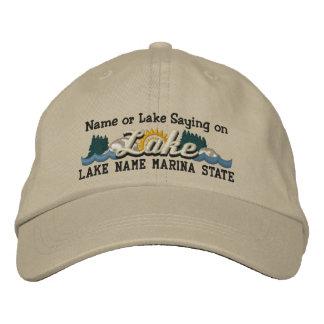 Casquette Brodée Personnalisez votre nom de LAC ou de LAC name de