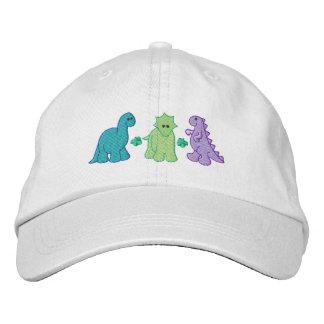 Casquette Brodée Petits dinosaures