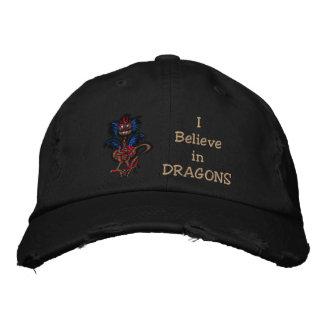 Casquette Brodée Peu de dragon