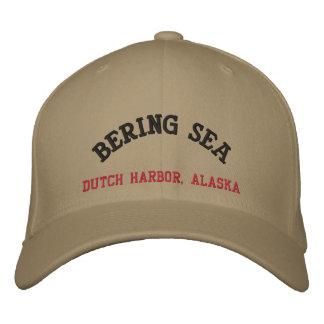 Casquette Brodée Port néerlandais de mer de Béring, Alaska