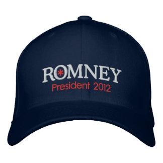 Casquette Brodée Président 2012 de Mitt Romney