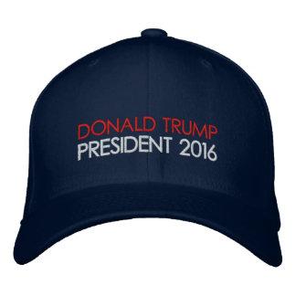 Casquette Brodée Président 2016 de Donald Trump