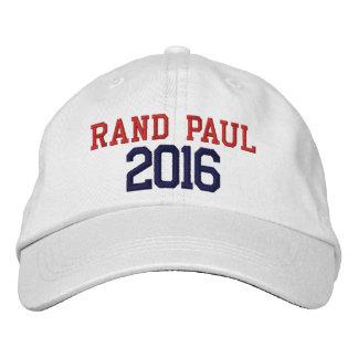 Casquette Brodée Président 2016 de Paul de couche-point