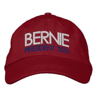 Casquette Brodée Président 2016 de ponceuses de Bernie