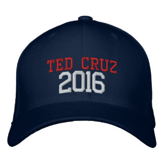 Casquette Brodée Président 2016 de Ted Cruz