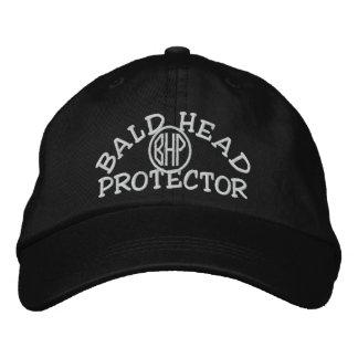 Casquette Brodée Protecteur de tête chauve
