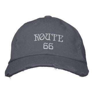 Casquette Brodée route 66