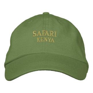 Casquette Brodée Safari Kenya