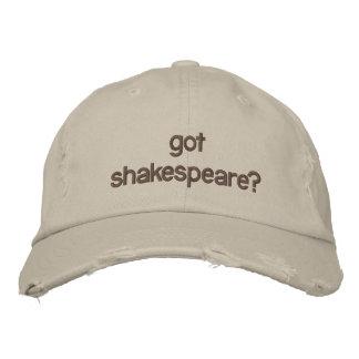 Casquette Brodée shakespeare obtenu ?