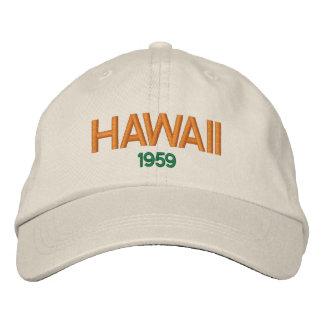 Casquette Brodée Statehood 1959 d'Hawaï Hat