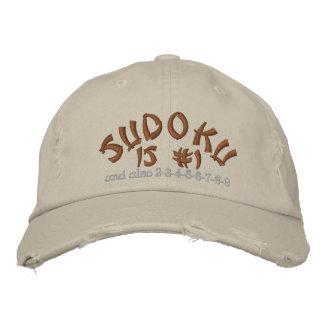 Casquette Brodée Sudoku, est #1