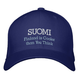 Casquette Brodée SUOMI, Finlande est plus frais que vous pensez