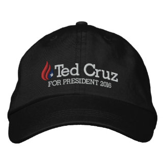 Casquette Brodée Ted Cruz pour le président 2016