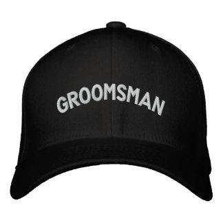 Casquette Brodée Texte de Groomsman