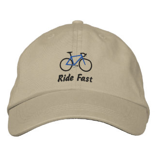 Casquette Brodée Tour rapide - vélo de route